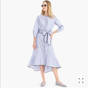 J Crew Cotton Midi Dress